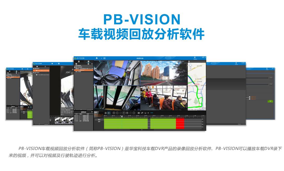 PB-VISION车载视频回放分析软件